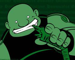 Gluttony Green by bloppyblue