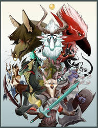 The Legend of Atlin Comic Cover by Yuroboros