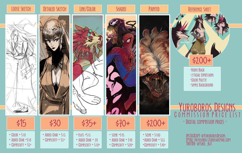 Commission-Pricelist by Yuroboros