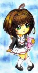 SakuraKinomoto cutie by Orenjiiro-san