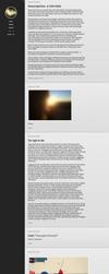 Lyra Tumblr Theme by Meskarune