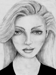Face Sketch by Shuss17