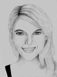 Face Sketch #2 by Shuss17
