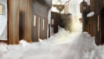 winter-village by CarnivalOfVanity