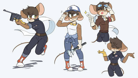 Mechanical Mouse by Beezii11