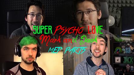 (Miniature Youtube) Septiplier-Super Psycho Love by GioRJ-TheBlackNinja