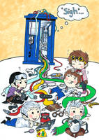 When The Doctor Was Me by WhatItMeansToBeHuman