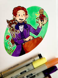 Doctor Scamander by WhatItMeansToBeHuman