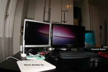 My real desktop by Mandarancio