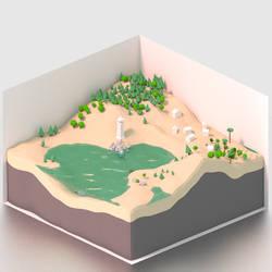 A world in a box by Mandarancio