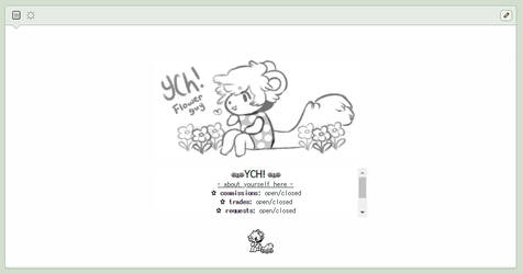 flowers custom box ych auction - closed by supichu