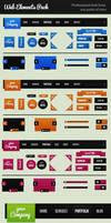 Web Elements Pack by Rafael-Olivra