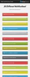 Web Notifications Pack by Rafael-Olivra