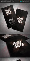 Hard Rock Business Card by Rafael-Olivra