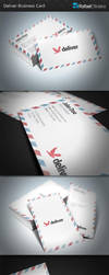 Deliver Business Card by Rafael-Olivra