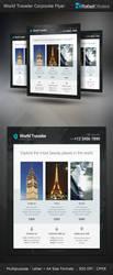 World Traveler Corporate Flyer by Rafael-Olivra