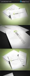 Luna Business Card by Rafael-Olivra