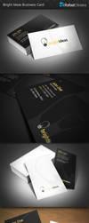 Bright Ideas Business Card by Rafael-Olivra