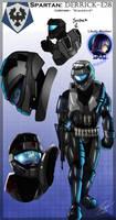 Halo OC: Derrick Derwolfsmeer by WinterSpectrum