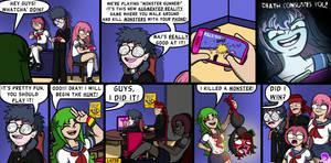Dank Midori #92 - Virtual Monsters by TheCittiverse