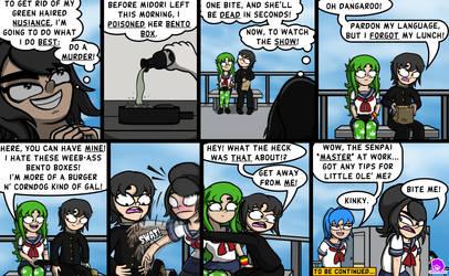 Dank Midori #113 - Poisoned Bento by TheCittiverse