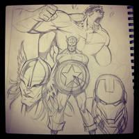 Avengers by RtisticMayhem