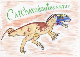 Carcharodontosaurus by Pyroraptor42