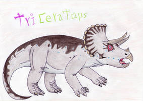 Triceratops by Pyroraptor42