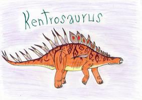 Kentrosaurus by Pyroraptor42
