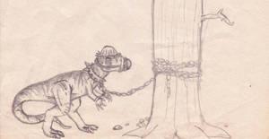 Dangerous Pachy by Pyroraptor42