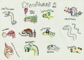 DINOSAURIOS by Pyroraptor42