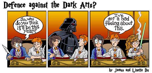 Defence against the Dark Arts? by JamusDu