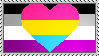 [LGBT Stamps] Asexual-Panromantic by LillySeedrafox264