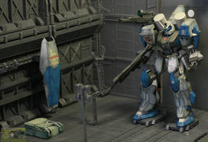 Duel Gundam Assault Shroud by neueziel