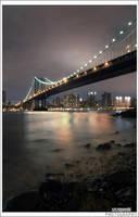 New York night view by szczepanek