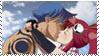 Yoko X Kamina Stamp by ColourfuLoser