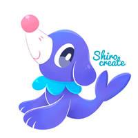 Popplio - Pokemon by Shirocreate