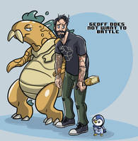 Geoff does not want to Battle by Gallrith