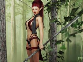 Her Neck of the Woods by RenderPretender