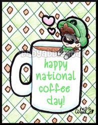 Happy National Coffee Day 2015 by BabyAbbieStar