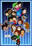 Leaning Tower of Friends by BabyAbbieStar