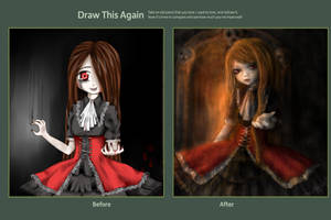Draw this again - Come with me to the hell :) by ximbixill