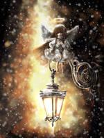 - Christmas angel - by ximbixill