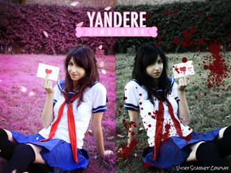 Yandere-chan Cosplay by ViickyScarlet