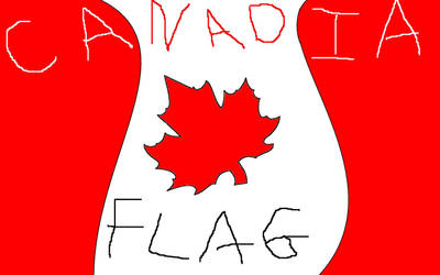 Canadia Flag by josh-lover