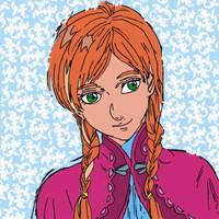 Anna Portrait by Sakurathewillow