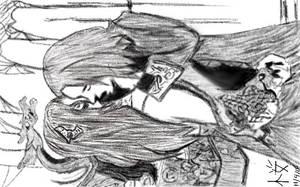 Vampire X Dragon Elf by Sakurathewillow