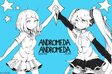 Andromeda Andromeda .:mikumikucollab2017 entry:. by MLPastaFan