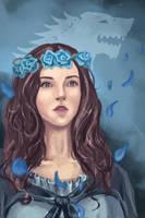 Lianna Stark|Game of thrones by Nozomi-Art