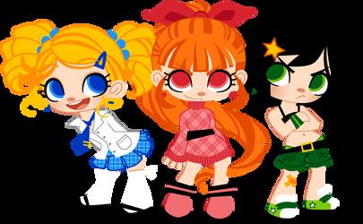 Powerpuff Girls by Sprits